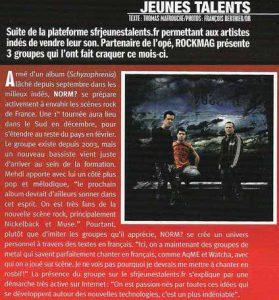 Rock Mag - Décembre 2006